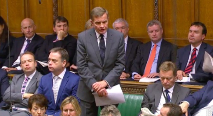 A question on Palestine was raised at the British Parliament's PMQs