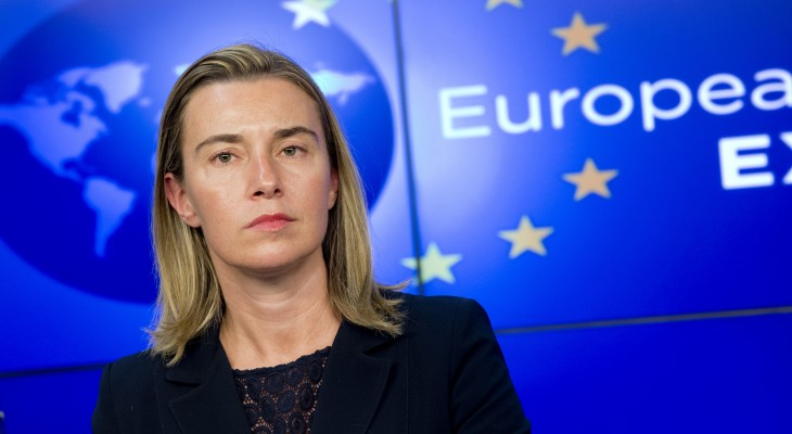EU's Mogherini urges Netanyahu, Abbas to meet Quartet 'in days'