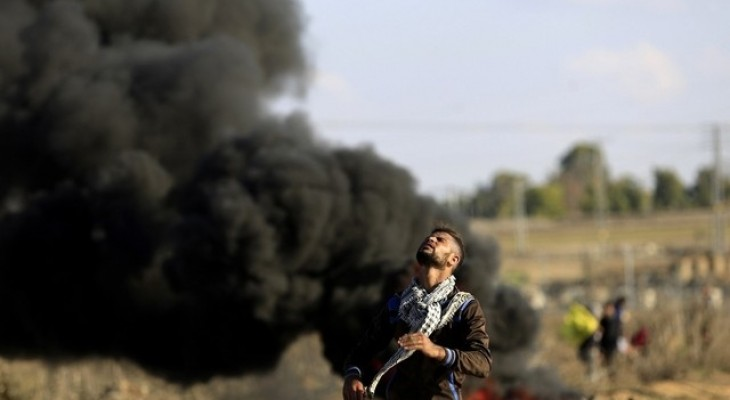Unarmed Gazans keep on protesting despite Israeli bullets
