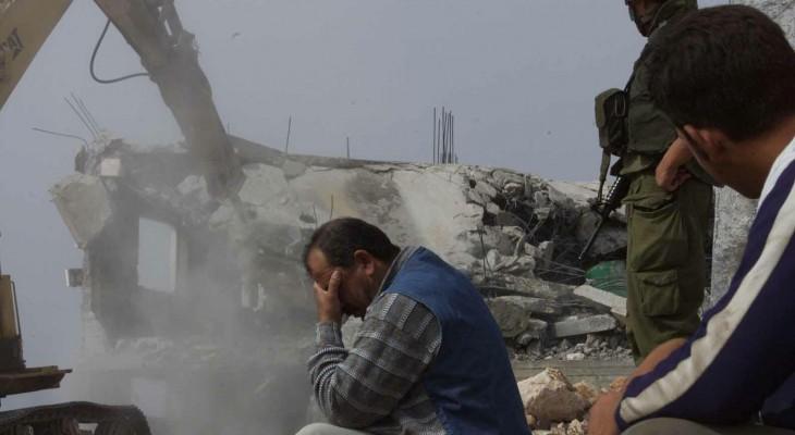 Israel To Demolish Ten Homes Near Nablus