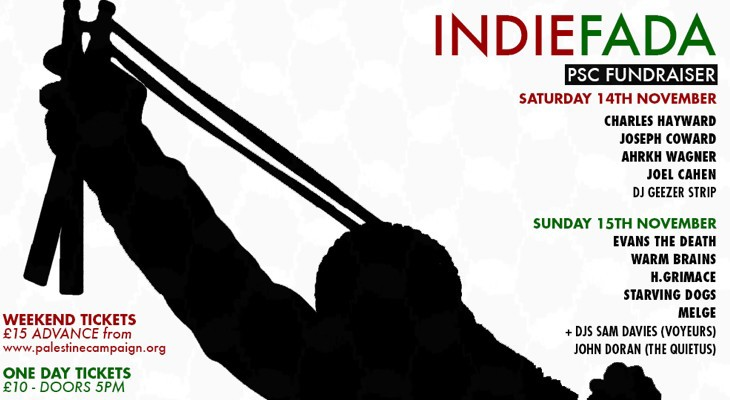 INDIEFADA – PSC Weekend Fundraising Gig in London