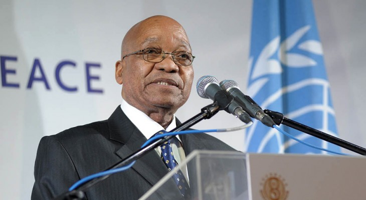 S. Africa's Zuma: No Mideast peace without Palestine