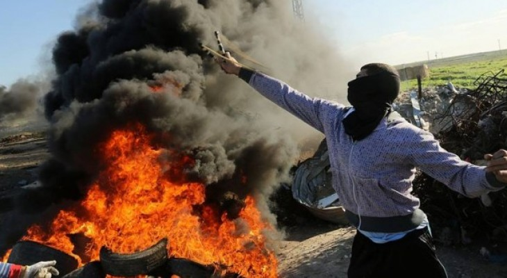 Several Palestinians injured on Friday's confrontations