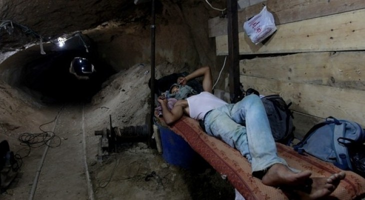 14 Palestinian workers lost in Gaza tunnel drowned by Egypt