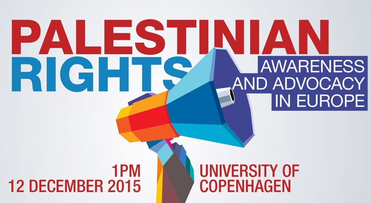 Event: Palestinian Rights: Awareness and Advocacy in Europe