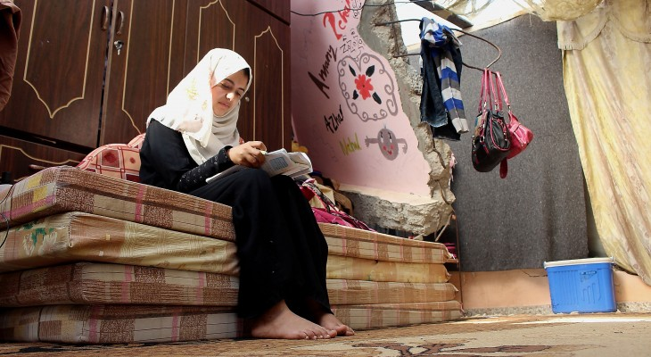 Another winter in Gaza's makeshift homes