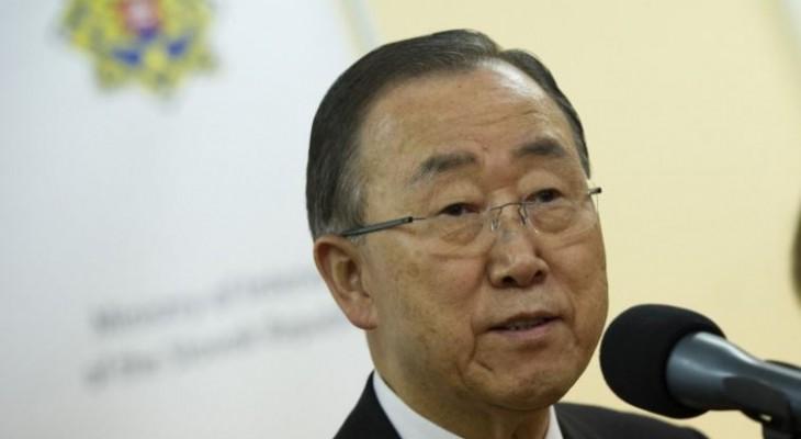 Ban Ki-Moon accuses Israel of 'breeding' Palestinian attacks