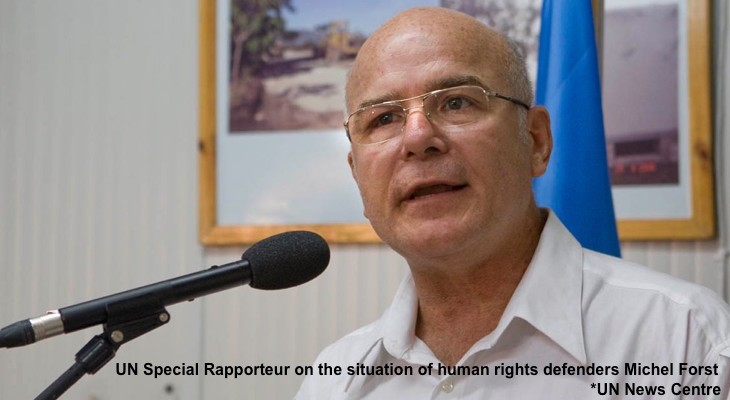 UN experts urge end to harassment of human rights defenders in Occupied Palestinian Territory