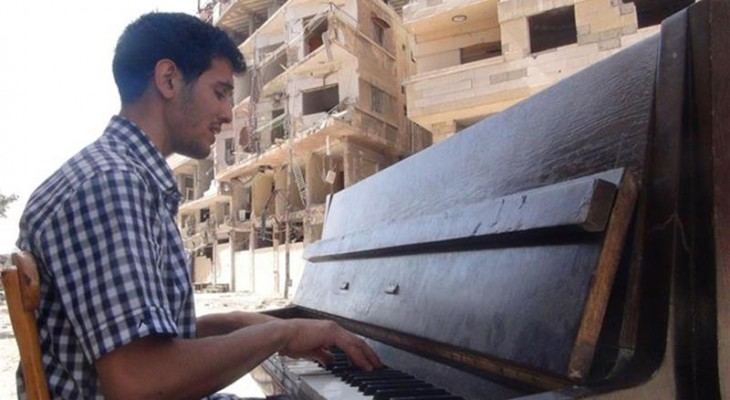 Palestinian refugee pianist given Beethoven Prize