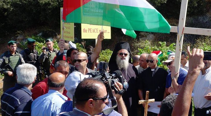 Palestinian Christians-they too deserve a peaceful and joyful Christmas and New Year