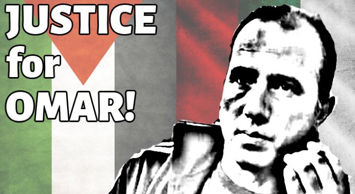 Urgent Action: Stop extradition of Omar Nayef Zayed, former Palestinian prisoner, from Bulgaria!