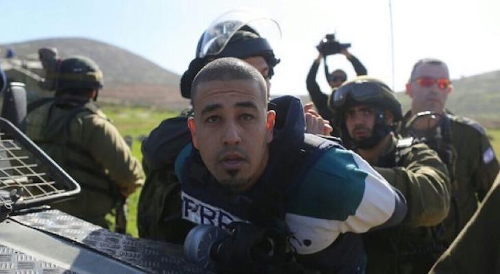 Israeli violations against journalists in Occupied Palestine