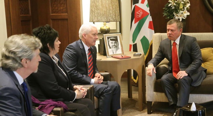 British parliamentary delegation visit to Jordan to highlight concerns over Israeli violations