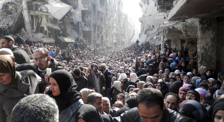 More than one third of Syria's Palestinians have been displaced