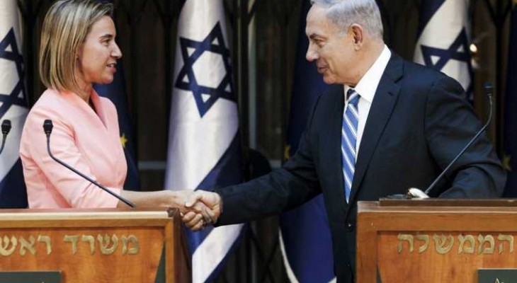 Israel says has mended fences with EU in Netanyahu-Mogherini call