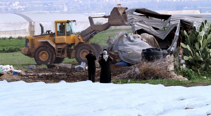 Israel steps up demolitions in the West Bank
