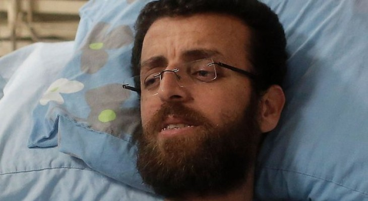 Palestinian ends 94-day hunger strike after Israel drops detention without charge