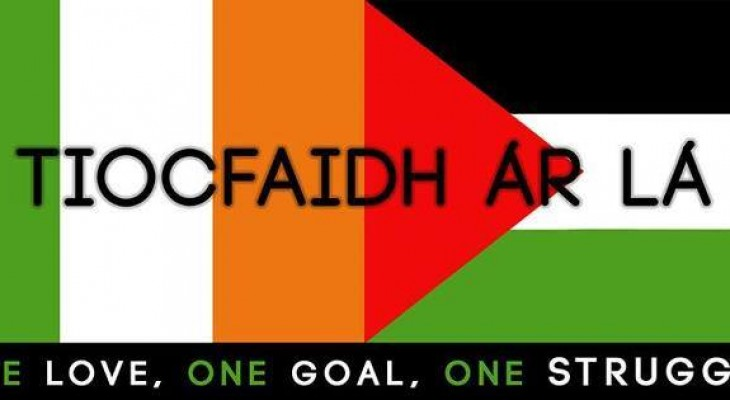 LONDON EVENT: Irish night for Palestine