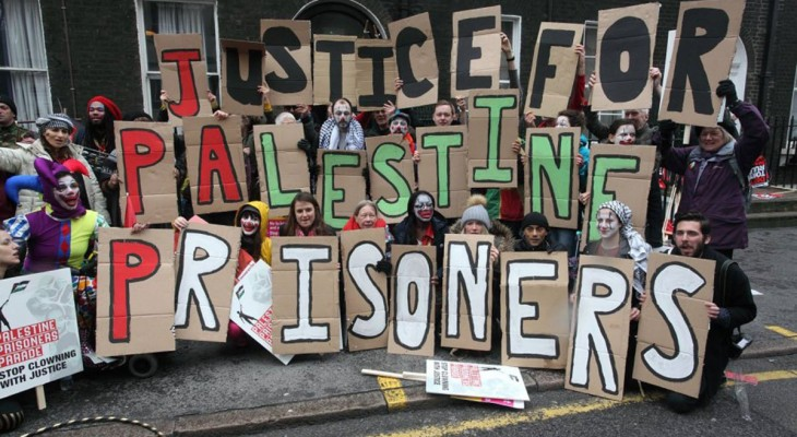 Palestinian Prisoners' Parade in London
