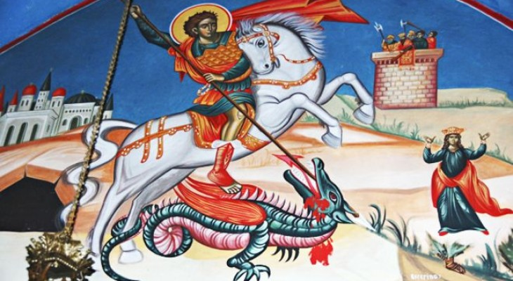 Why St George is a Palestinian hero By: Yolande Knell