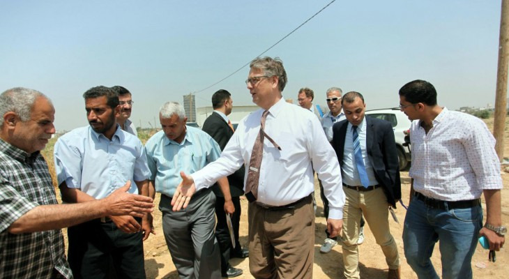 Dutch delegation visits Gaza Chamber of Commerce