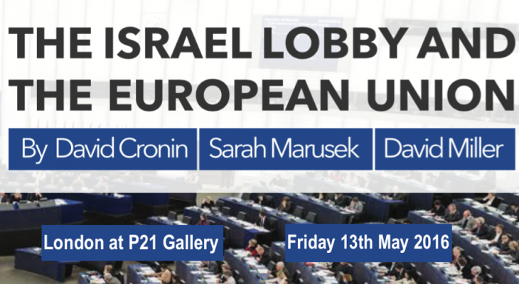 Europal to release report on pro-Israel lobby in Europe