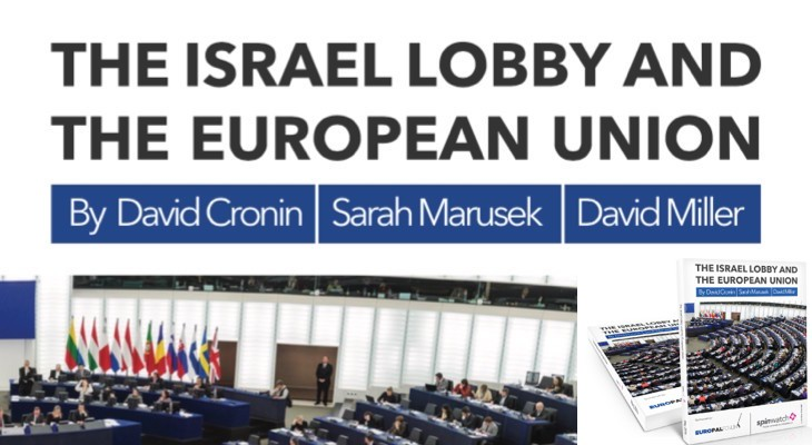 Press release: New report details extent of Israel lobby in Brussels' connections to US Islamophobia industry and illegal settlements
