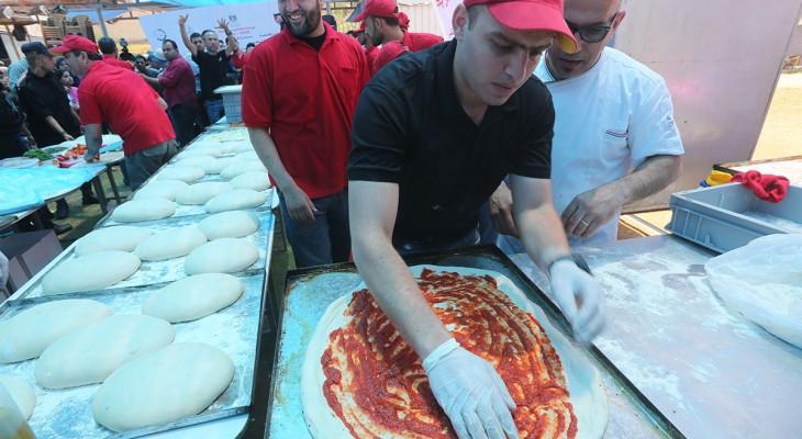 Italians take pizza skills to Palestine