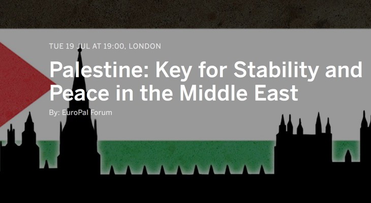 Reception and Seminar: Palestine: Key for Stability and Peace in the Middle East