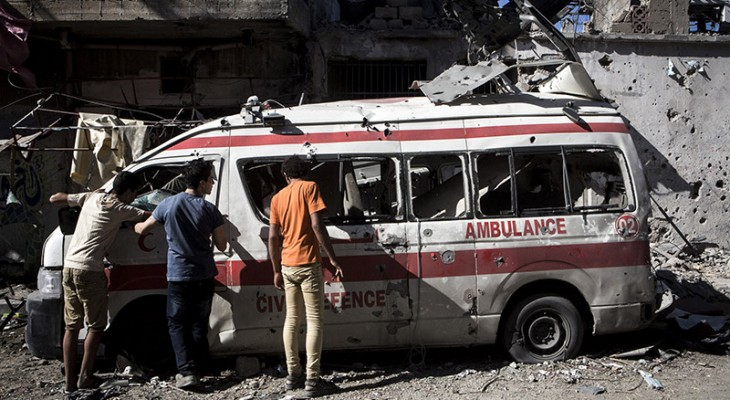 LONDON EVENT: Film screening: Ambulance by Mohamed Jabaly