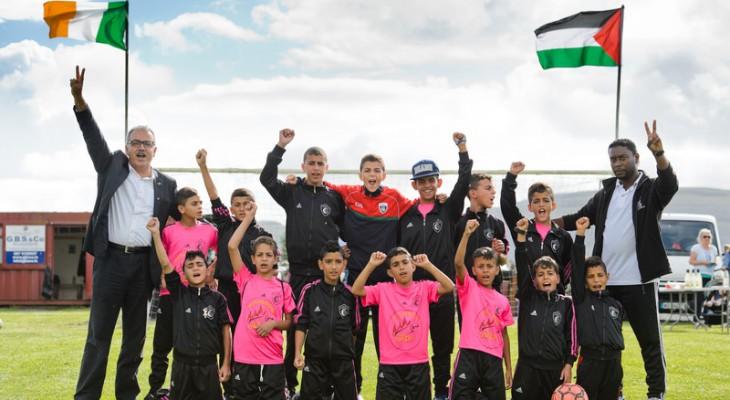 Gaza football club dazzles Ireland By: Ciaran Tierney