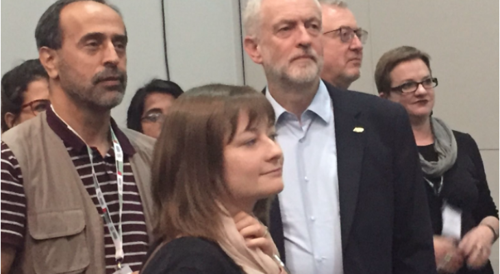 Corbyn: Palestinian people need and deserve a state, Occupation must End.