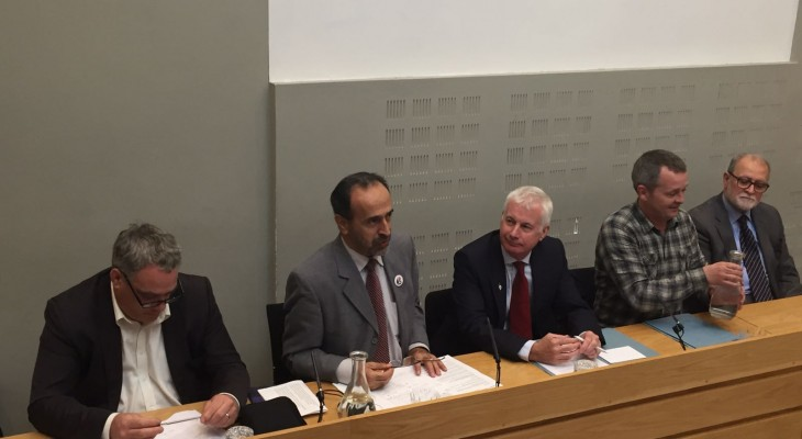 Parliamentarians in Ireland discuss ways to support Palestinians and end the siege on Gaza