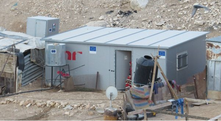 EU recommendation to ask Israel to pay for demolished EU-funded West Bank facilities