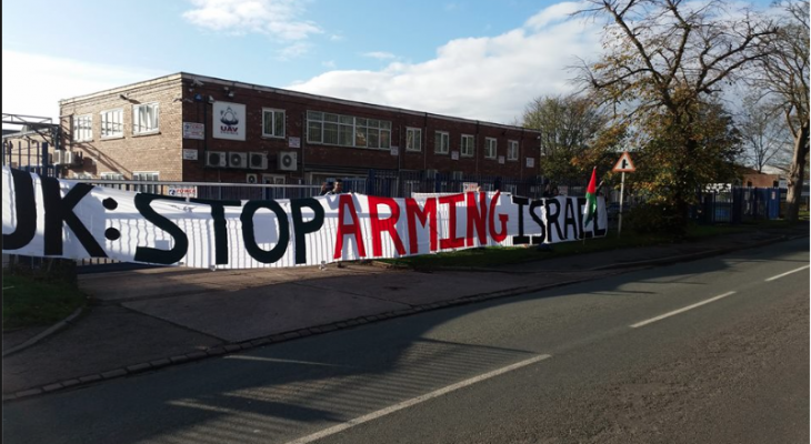 LICHFIELD EVENT: UK STOP Arming Israel from Arms to Renewables