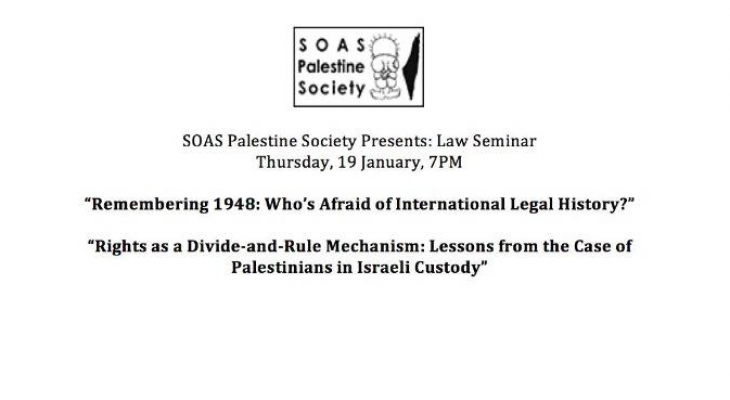 Remembering 1948: Who's Afraid of International Legal History?