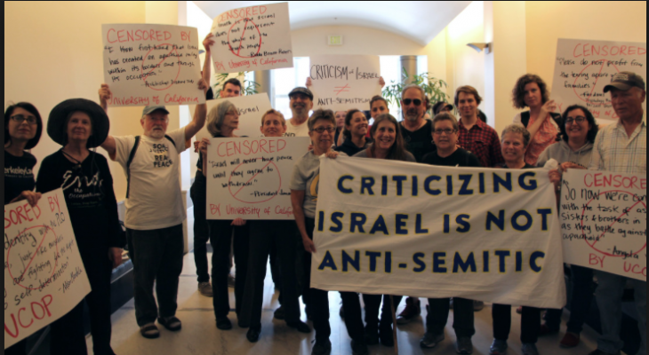 SUSSEX EVENT: Meeting: Is Criticism Of Israel Anti-Semitism?