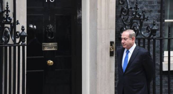 In welcoming Netanyahu to Downing Street, May showed contempt for international law