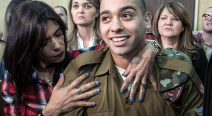 Five children who got longer sentences for throwing stones than Israeli soldier who shot incapacitated Palestinian dead