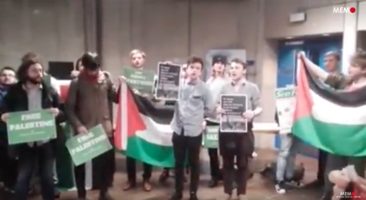 Protesters prevent speech by Israeli ambassador to Ireland