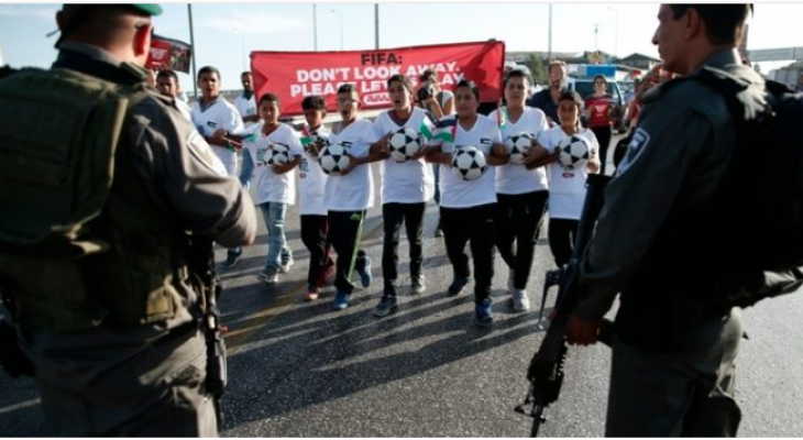 HRDs slam FIFA for failure to expel Israeli Football clubs in illegal settlements