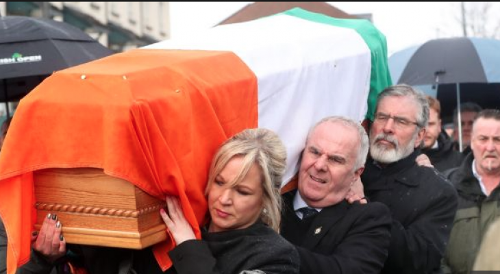 Palestinians mourn the passing of Martin McGuiness