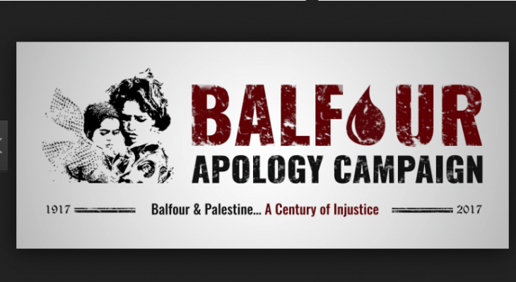 "LONDON EVENT: ""Balfour Declaration Centenary: No Marking, No Celebration, It's an Apology"""