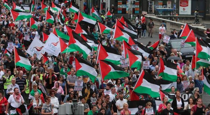 LONDON PROTEST: SOAS United Against Israeli Apartheid