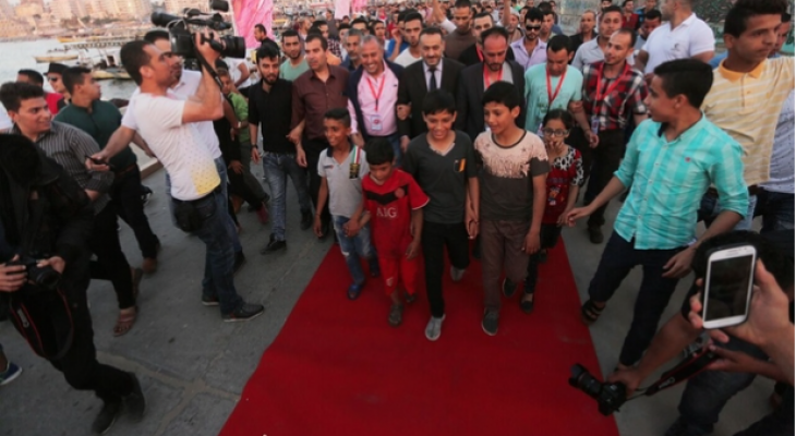 'We want to return': Gazan film festival calls out Balfour on the red carpet