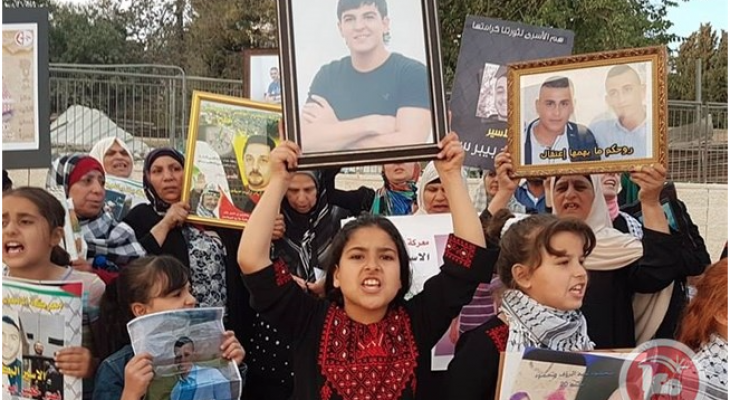 Protesters hold sit-ins in Ukraine, France in support of Palestinian hunger strike
