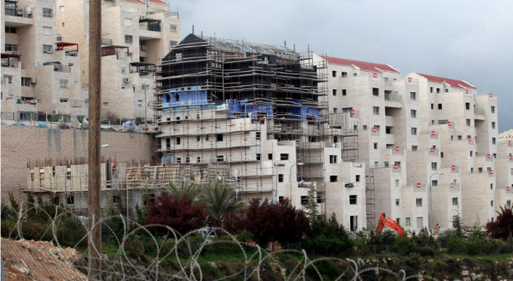 34 percent increase in illegal Israeli settlement construction in 2016