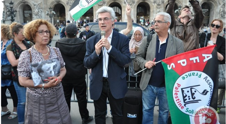 Cities across France hold solidarity sit-ins in support of hunger strike