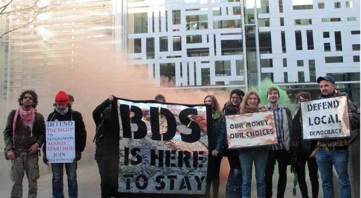PSC to take UK to court over 'anti-BDS' measures