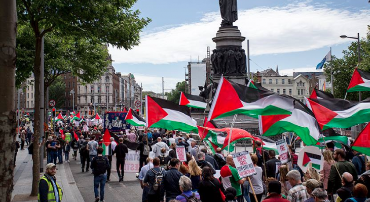 WATCH: National Demonstration for Freedom & Justice in Palestine, Ireland